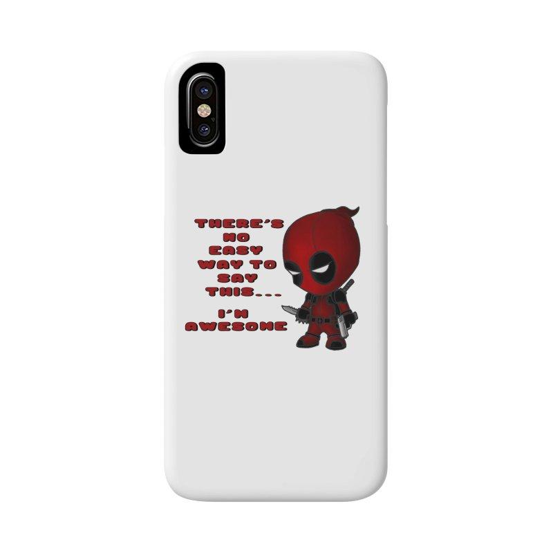 Deadpool Accessories Phone Case by Pbatu's Artist Shop