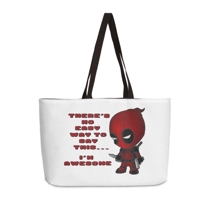 Deadpool Accessories Weekender Bag Bag by Pbatu's Artist Shop