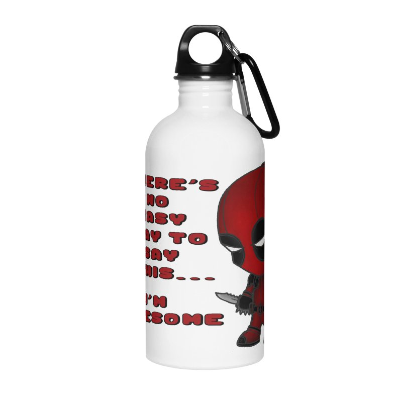 Deadpool Accessories Water Bottle by Pbatu's Artist Shop