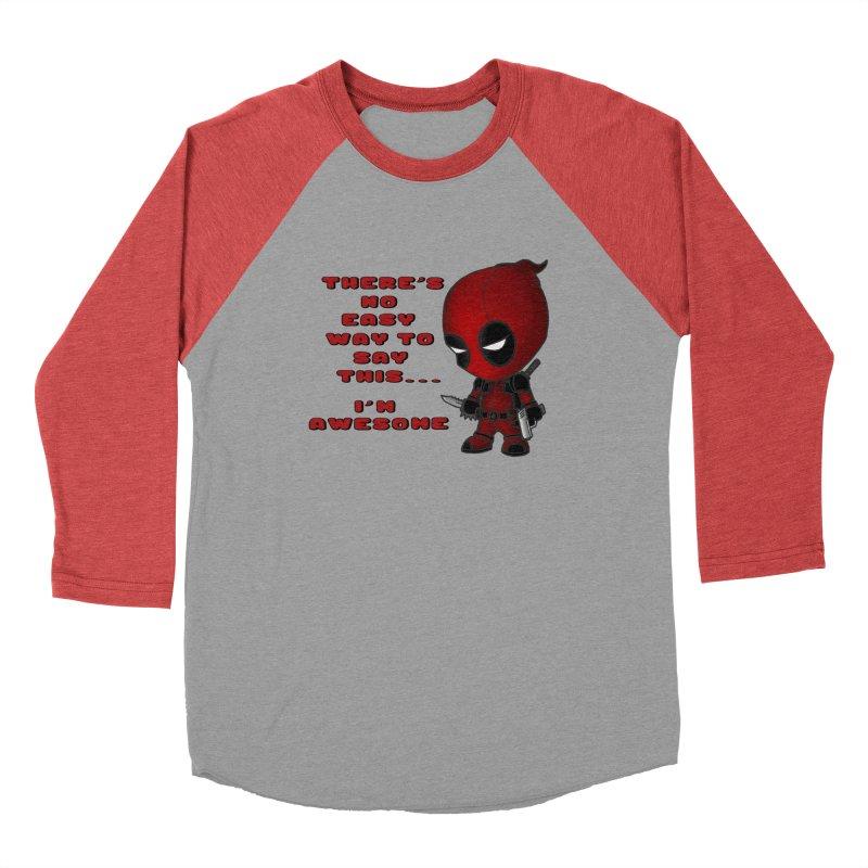 Deadpool Women's Baseball Triblend Longsleeve T-Shirt by Pbatu's Artist Shop