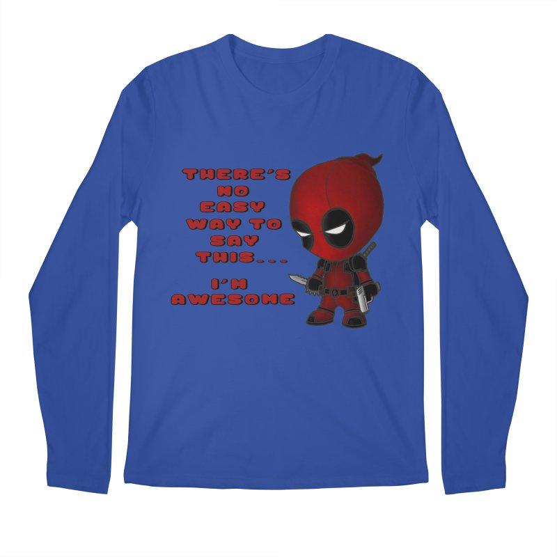 Deadpool Men's Regular Longsleeve T-Shirt by Pbatu's Artist Shop