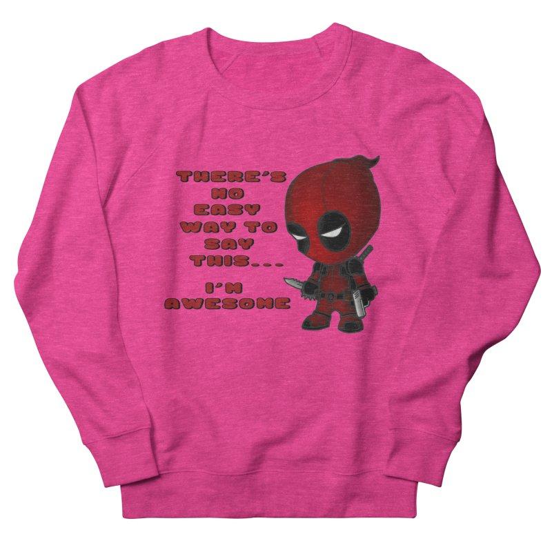 Deadpool Women's French Terry Sweatshirt by Pbatu's Artist Shop