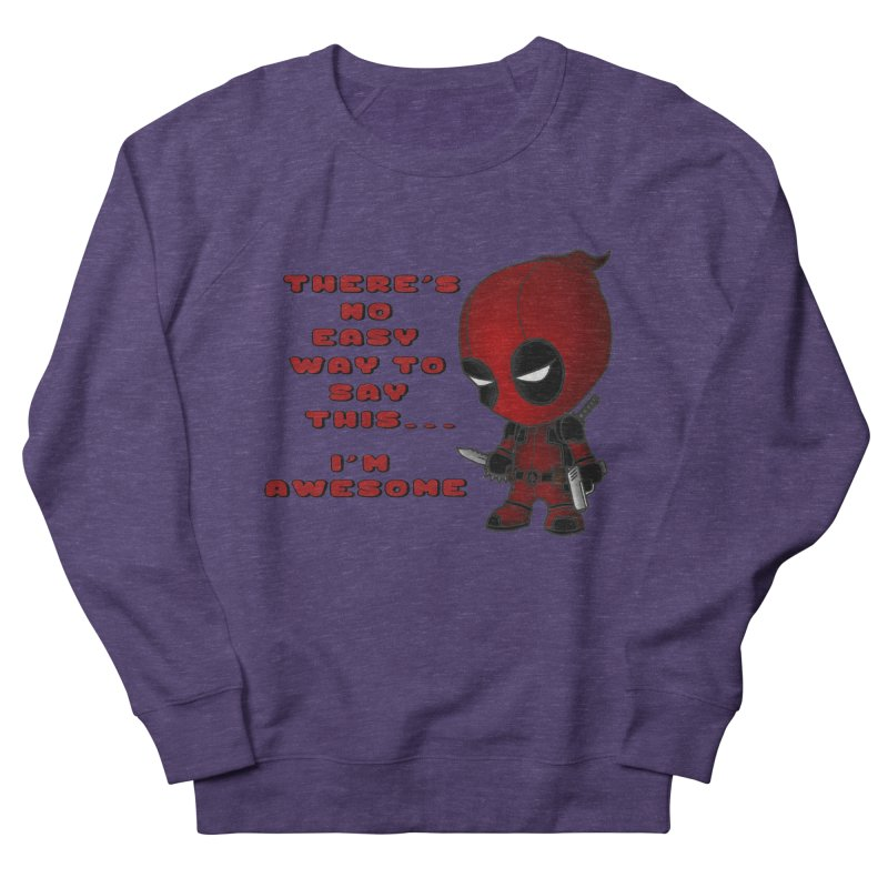 Deadpool Men's French Terry Sweatshirt by Pbatu's Artist Shop