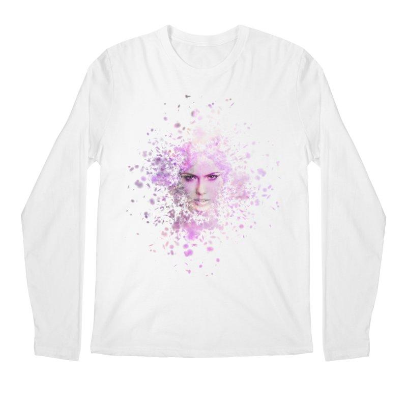 Fractured Men's Regular Longsleeve T-Shirt by Pbatu's Artist Shop