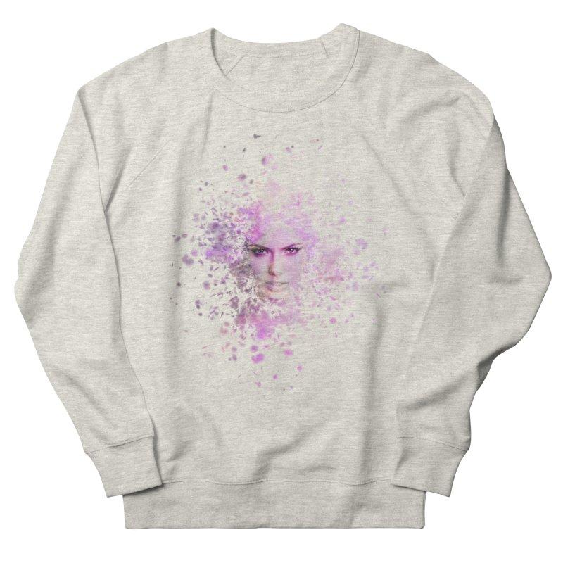 Fractured Men's French Terry Sweatshirt by Pbatu's Artist Shop