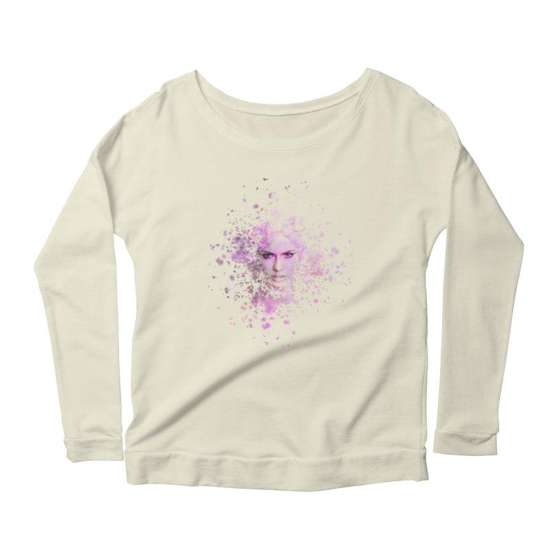 Fractured Women's Scoop Neck Longsleeve T-Shirt by Pbatu's Artist Shop