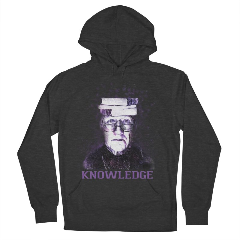 Knowledge Women's French Terry Pullover Hoody by Pbatu's Artist Shop