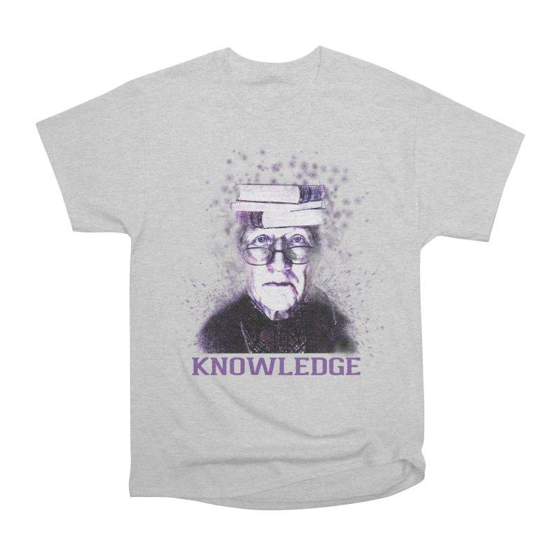 Knowledge Men's Heavyweight T-Shirt by Pbatu's Artist Shop