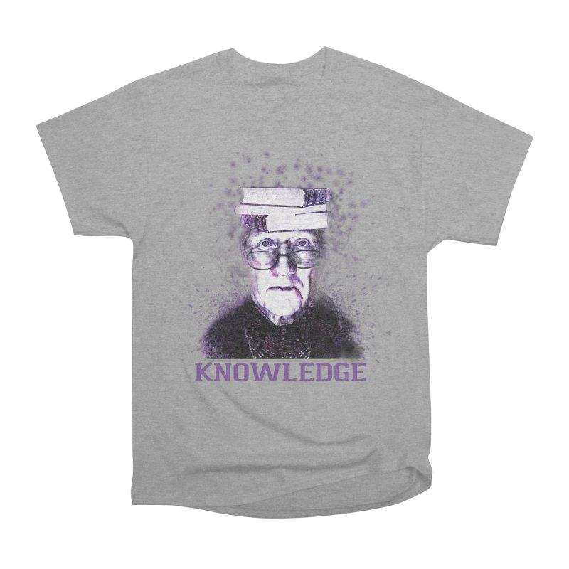 Knowledge Women's Heavyweight Unisex T-Shirt by Pbatu's Artist Shop