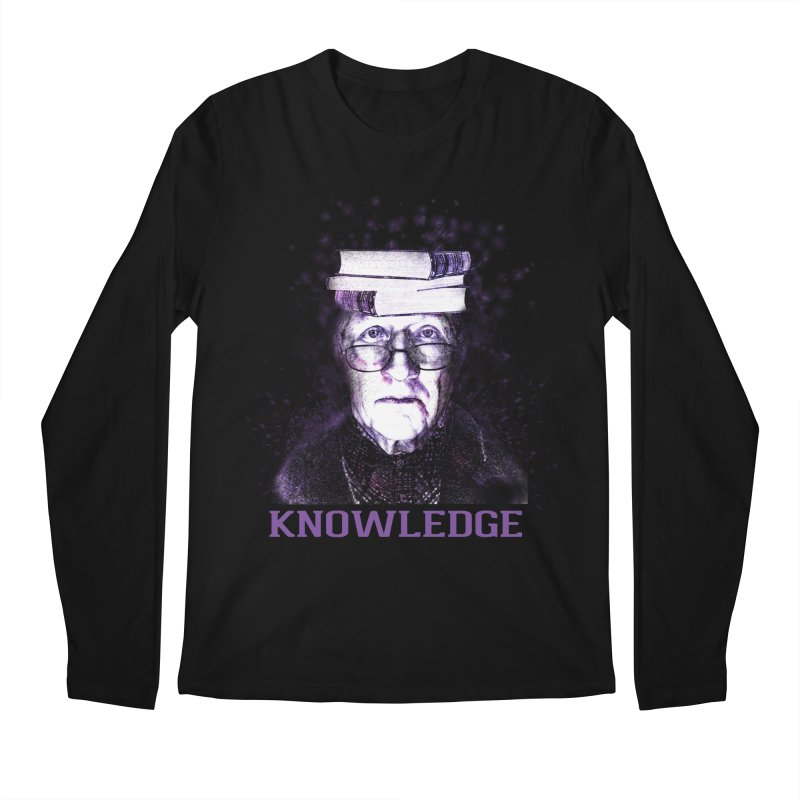 Knowledge Men's Regular Longsleeve T-Shirt by Pbatu's Artist Shop