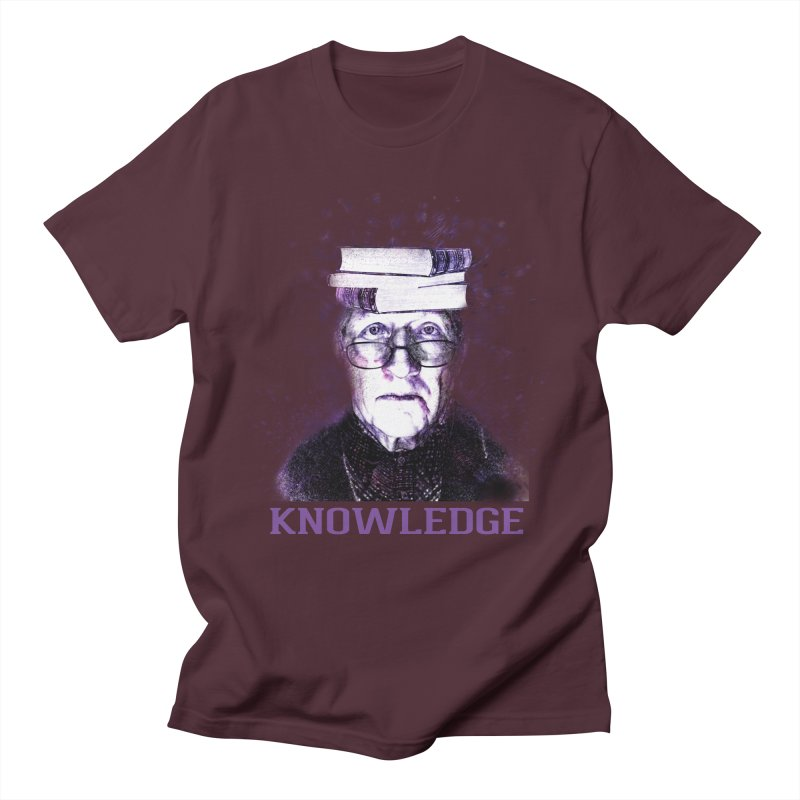 Knowledge Men's Regular T-Shirt by Pbatu's Artist Shop