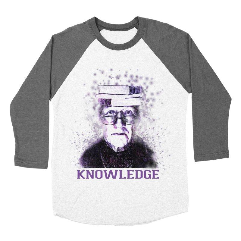 Knowledge Women's Baseball Triblend Longsleeve T-Shirt by Pbatu's Artist Shop