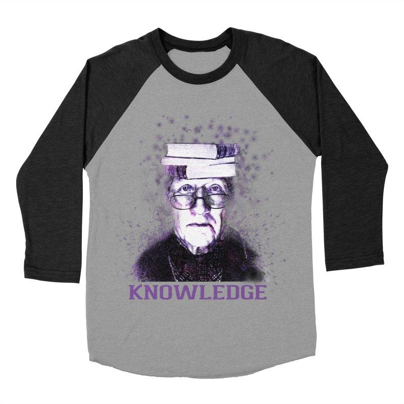 Knowledge Men's Baseball Triblend Longsleeve T-Shirt by Pbatu's Artist Shop