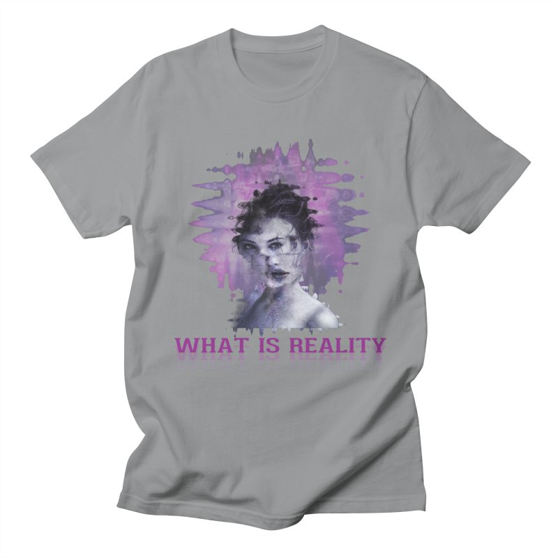 Reality Men's Regular T-Shirt by Pbatu's Artist Shop