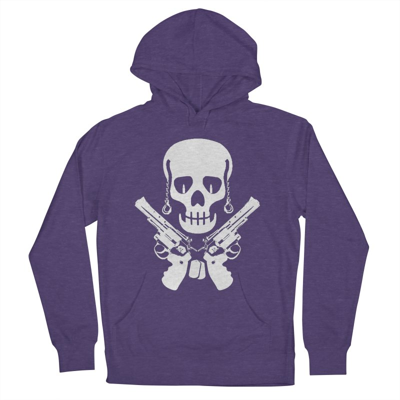 Skullhead Women's French Terry Pullover Hoody by Pbatu's Artist Shop