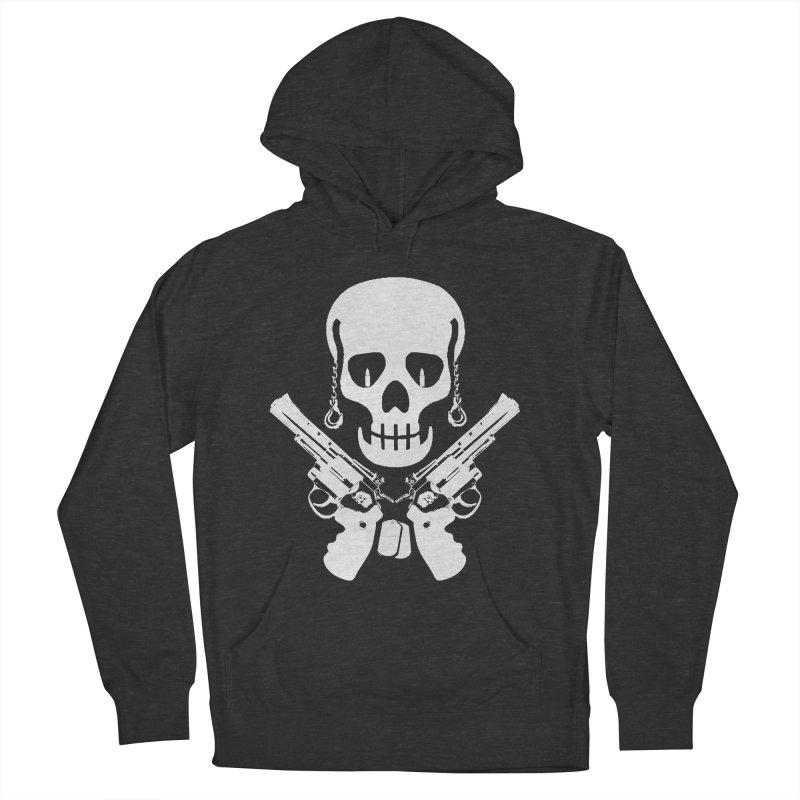 Skullhead Men's French Terry Pullover Hoody by Pbatu's Artist Shop