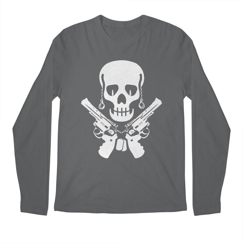 Skullhead Men's Regular Longsleeve T-Shirt by Pbatu's Artist Shop