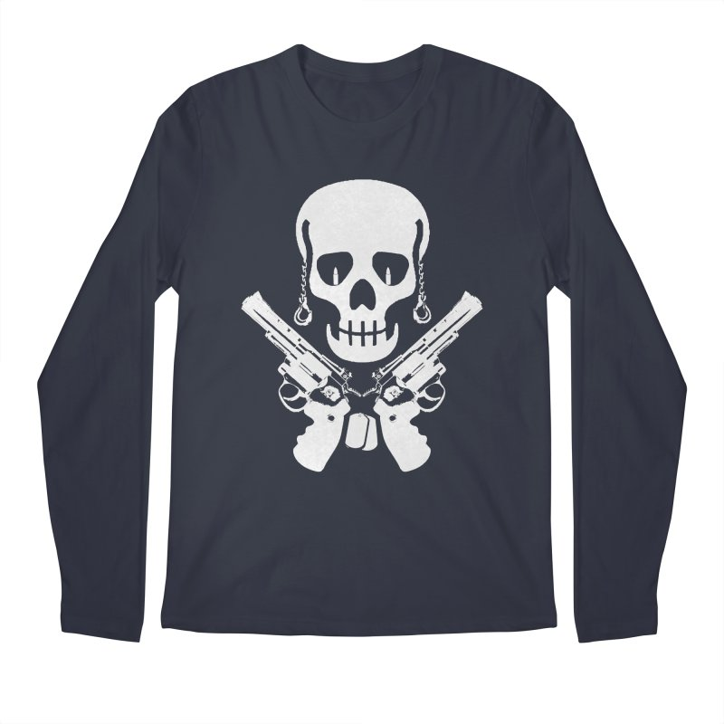 Skullhead Men's Regular Longsleeve T-Shirt by Pbatu's Artist Shop