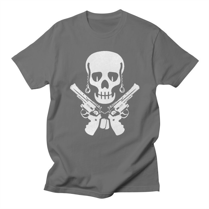 Skullhead Men's Regular T-Shirt by Pbatu's Artist Shop