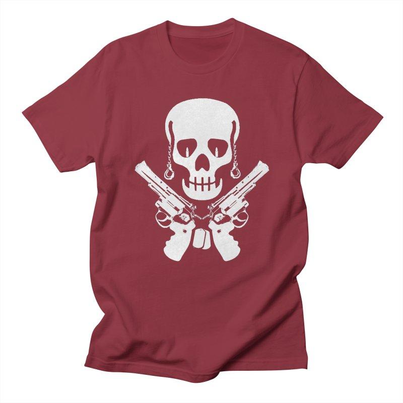 Skullhead Men's Regular T-Shirt by Pbatu's Artist Shop