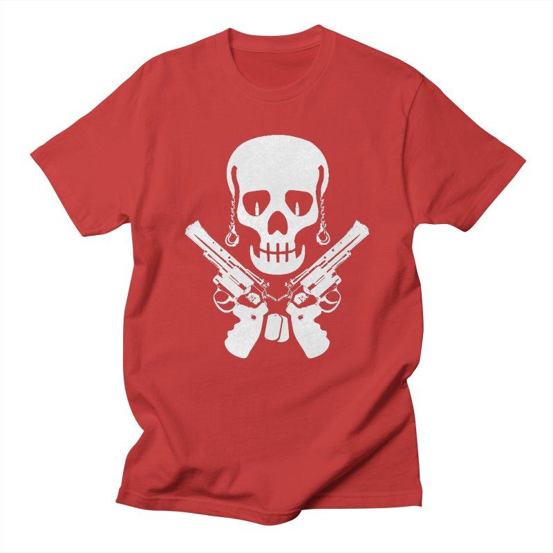 Skullhead Women's Regular Unisex T-Shirt by Pbatu's Artist Shop