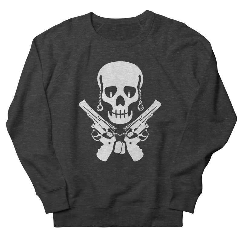 Skullhead Women's French Terry Sweatshirt by Pbatu's Artist Shop
