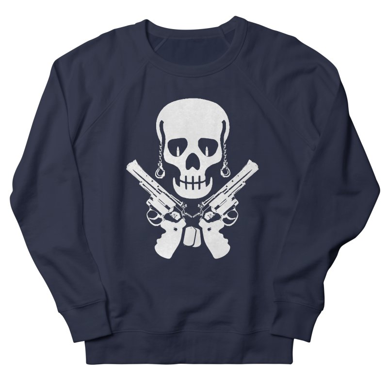 Skullhead Women's French Terry Sweatshirt by Pbatu's Artist Shop