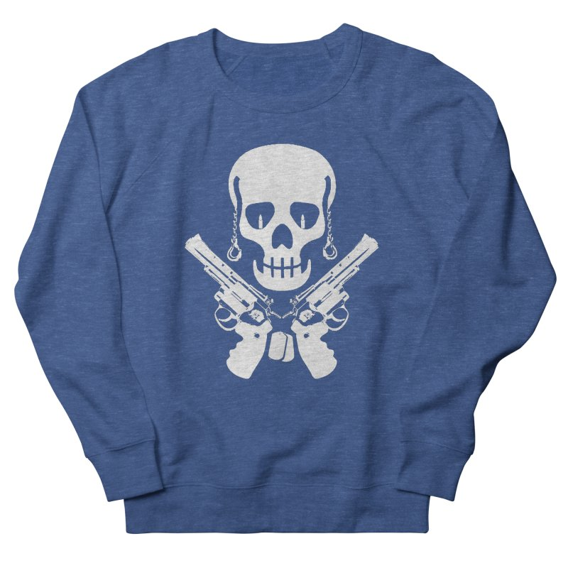 Skullhead Men's French Terry Sweatshirt by Pbatu's Artist Shop