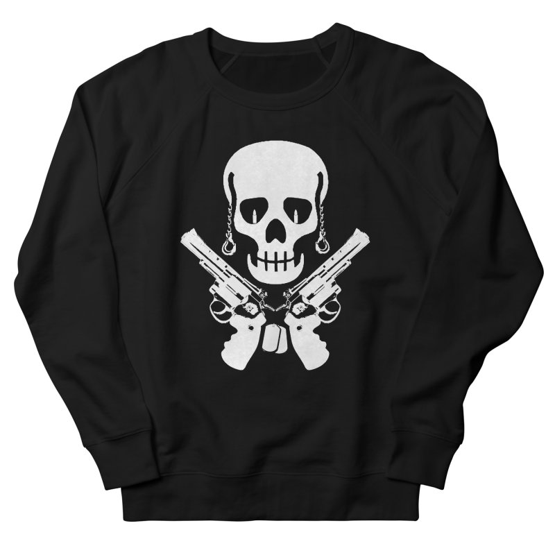 Skullhead Men's French Terry Sweatshirt by Pbatu's Artist Shop
