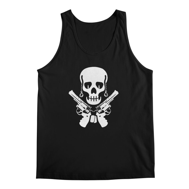 Skullhead Men's Regular Tank by Pbatu's Artist Shop