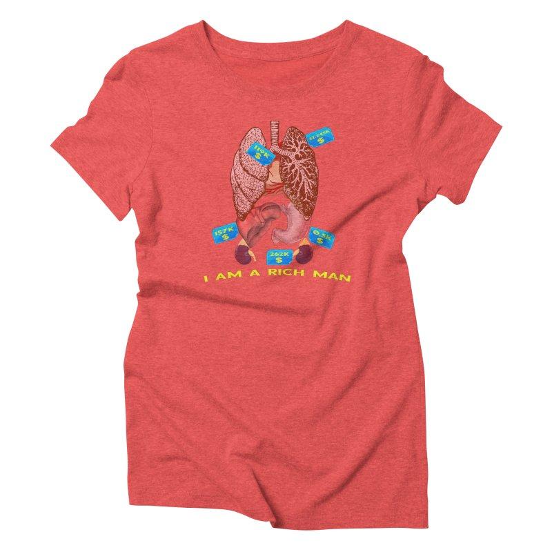 Rich Women's T-Shirt by Pbatu's Artist Shop