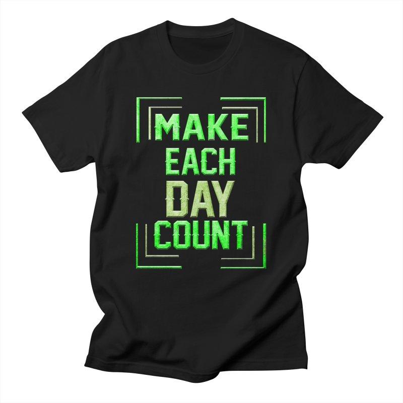 Make it Count Men's Regular T-Shirt by Pbatu's Artist Shop
