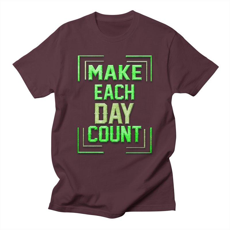 Make it Count Women's Regular Unisex T-Shirt by Pbatu's Artist Shop