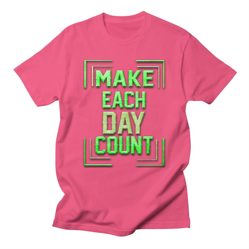 Make it Count Men's Regular T-Shirt by Pbatu's Artist Shop