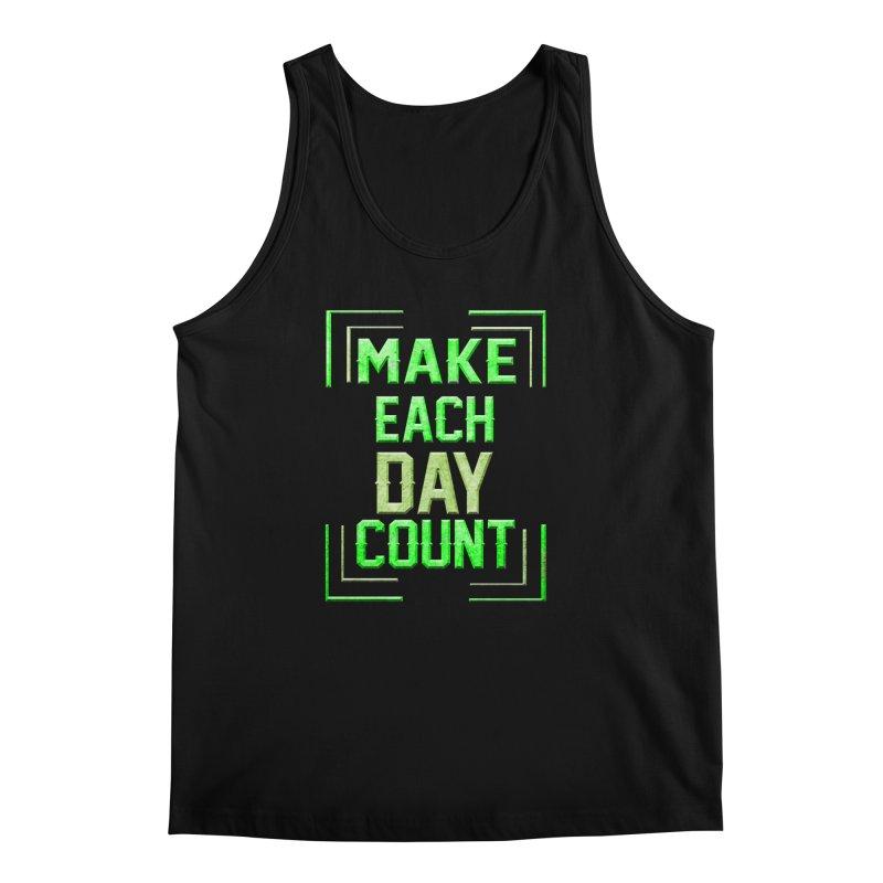 Make it Count Men's Regular Tank by Pbatu's Artist Shop