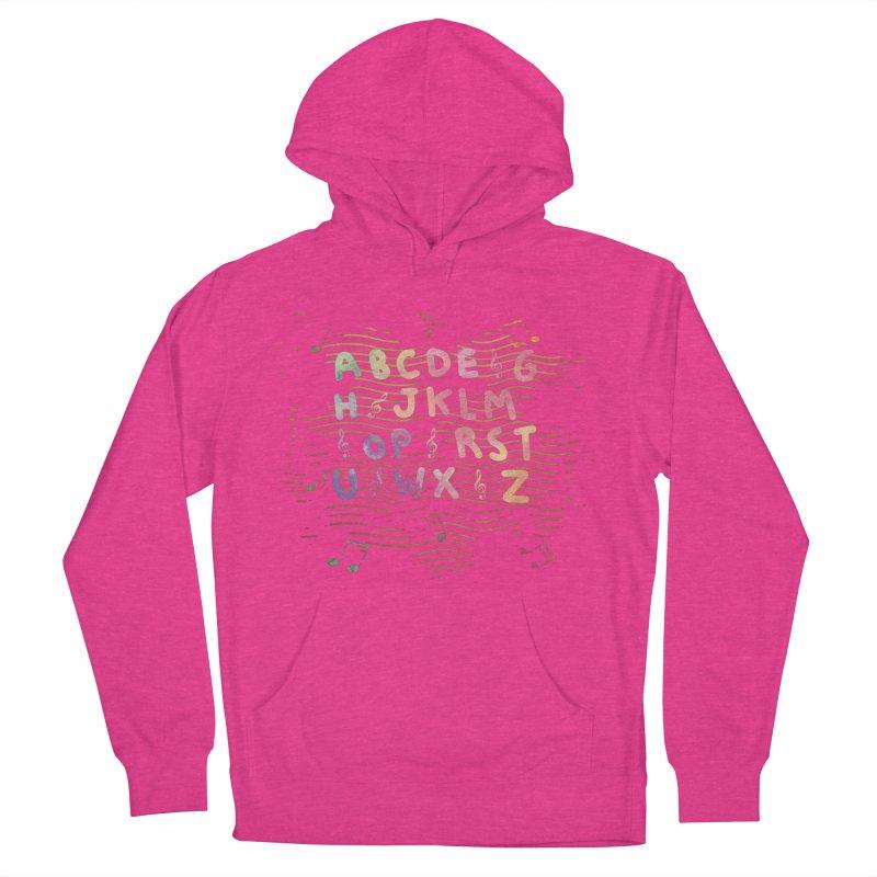Alphabet Women's Pullover Hoody by Pbatu's Artist Shop