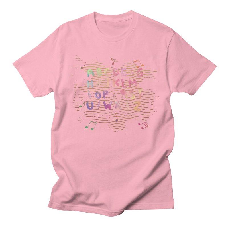 Alphabet Women's Regular Unisex T-Shirt by Pbatu's Artist Shop