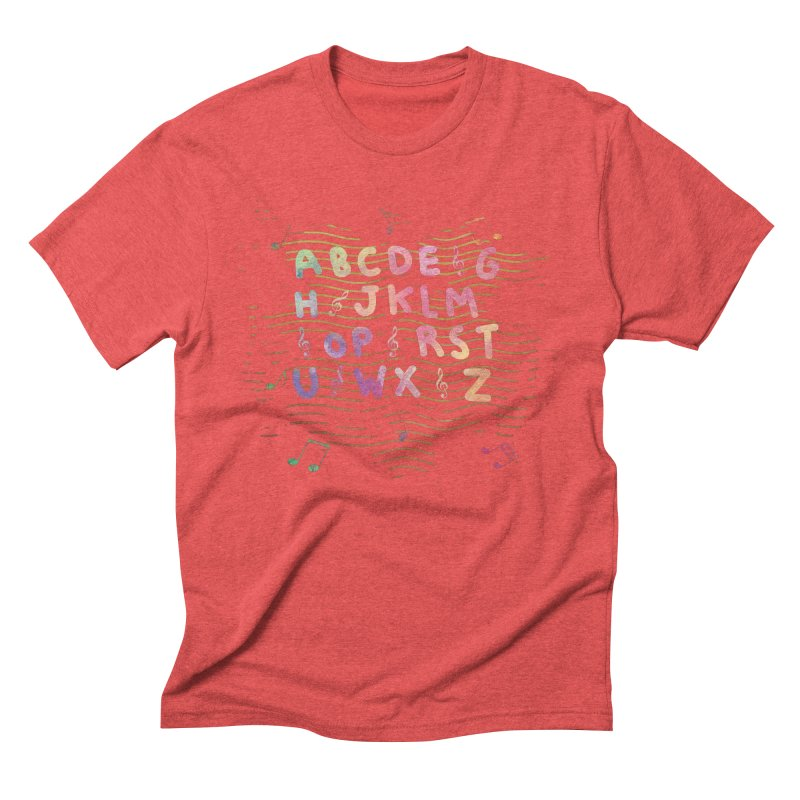 Alphabet Men's T-Shirt by Pbatu's Artist Shop