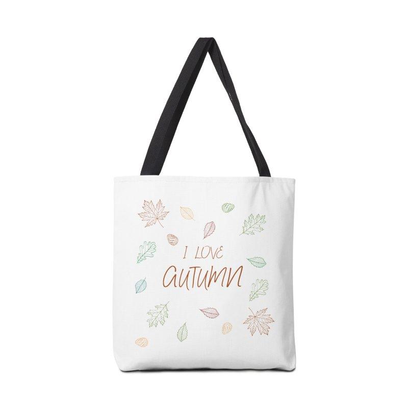 I love autumn Accessories Bag by Pbatu's Artist Shop