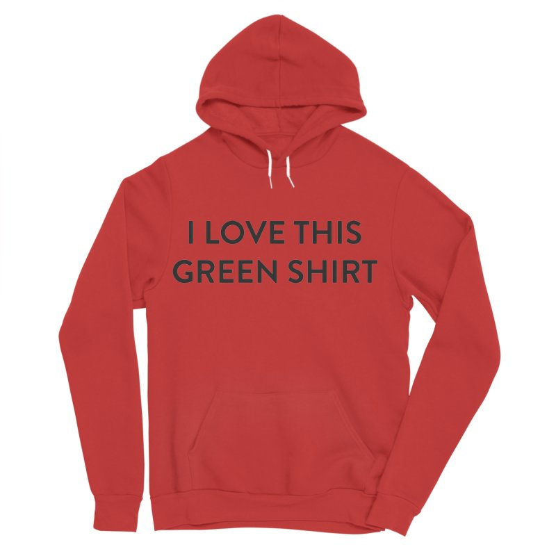 Green shirt Women's Pullover Hoody by Pbatu's Artist Shop