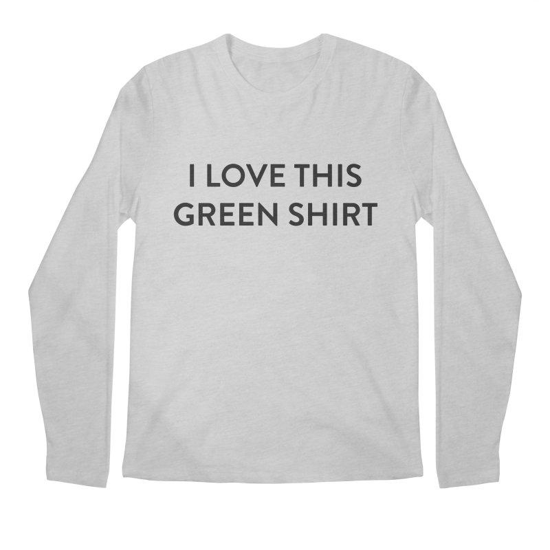 Green shirt Men's Regular Longsleeve T-Shirt by Pbatu's Artist Shop