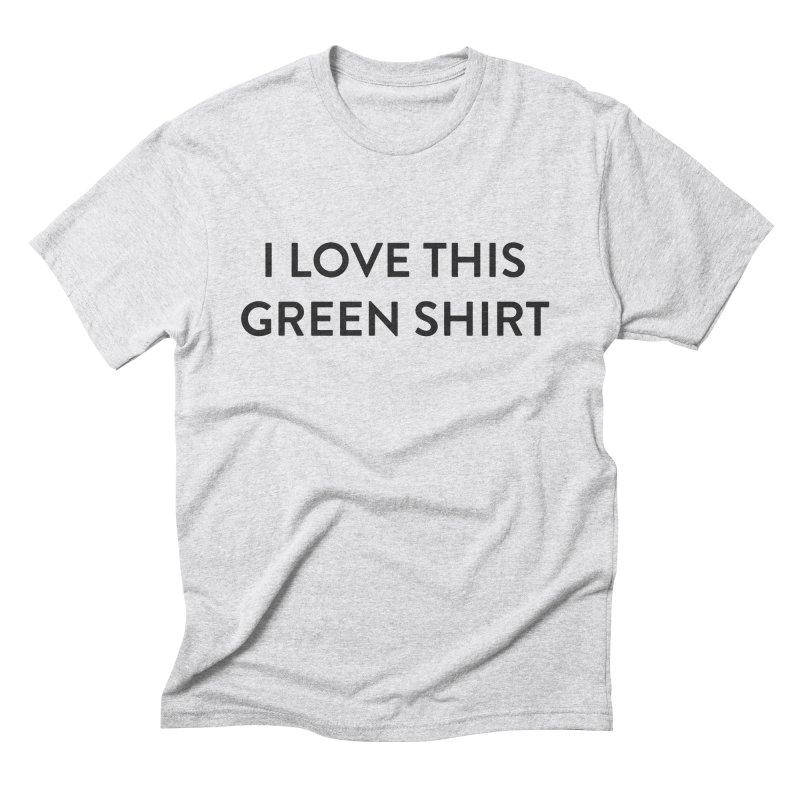 Green shirt Men's Triblend T-Shirt by Pbatu's Artist Shop