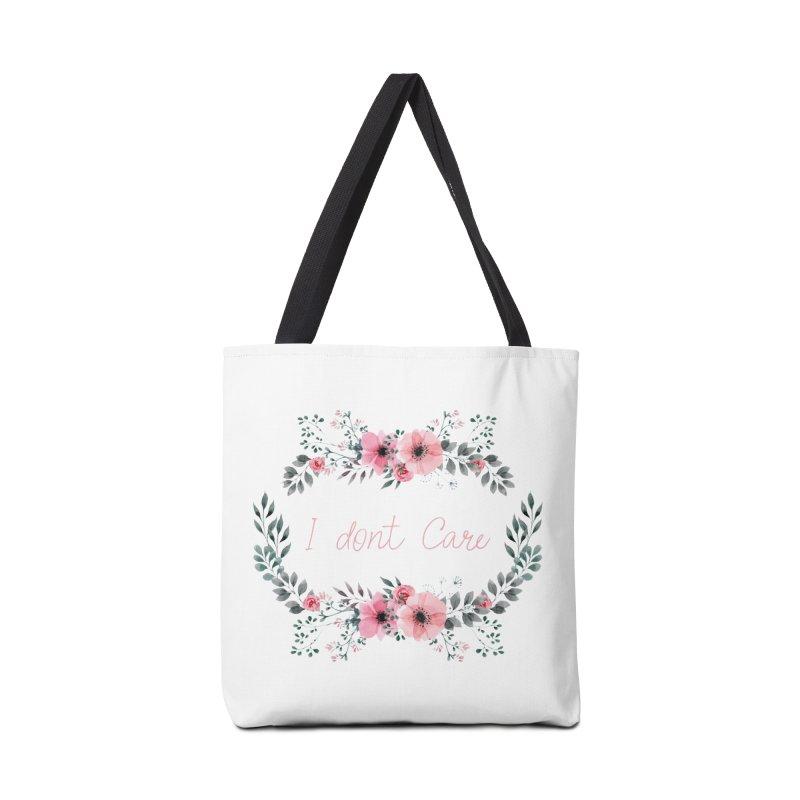 I dont care Accessories Bag by Pbatu's Artist Shop