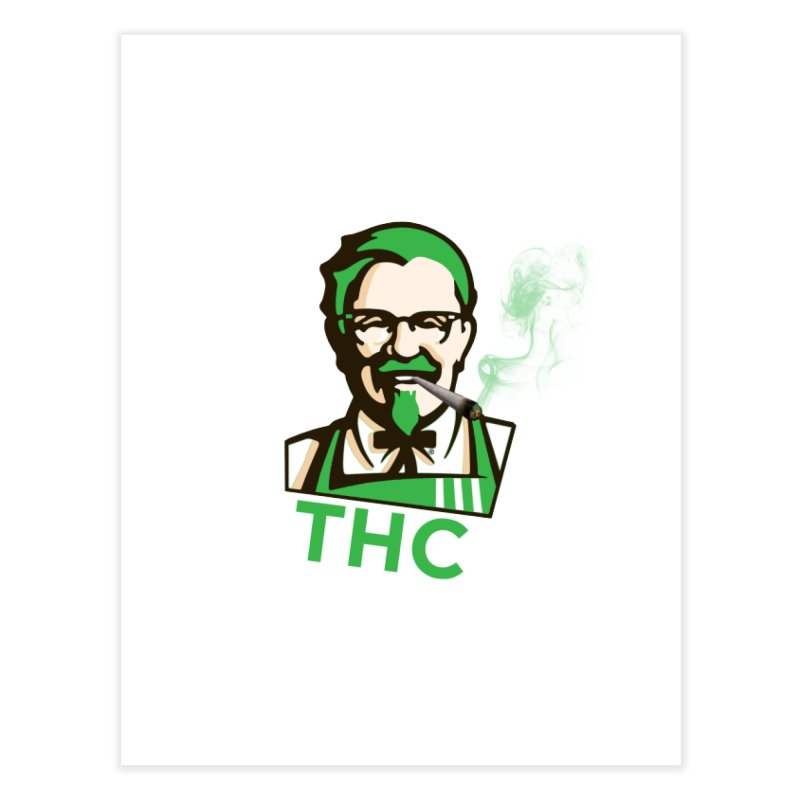 General THC Home Fine Art Print by Pbatu's Artist Shop