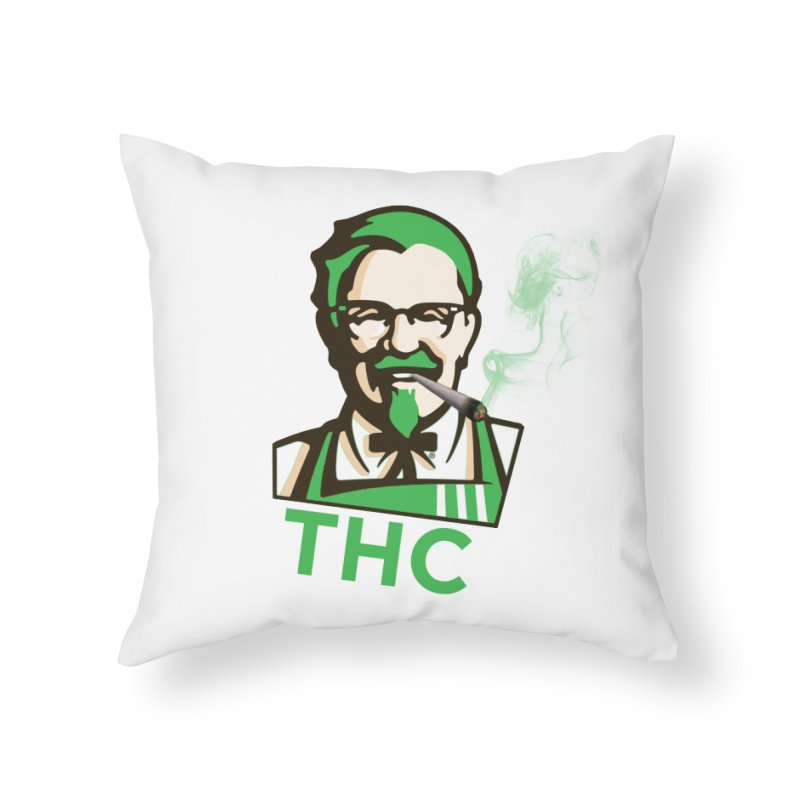 General THC Home Throw Pillow by Pbatu's Artist Shop