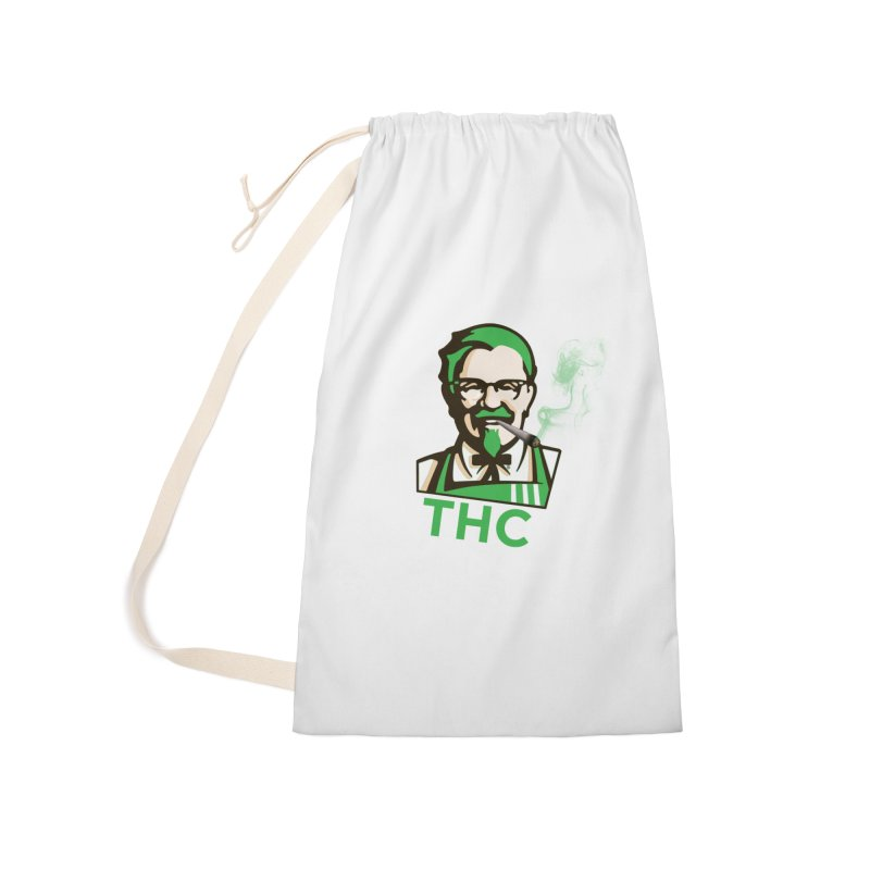 General THC Accessories Laundry Bag Bag by Pbatu's Artist Shop