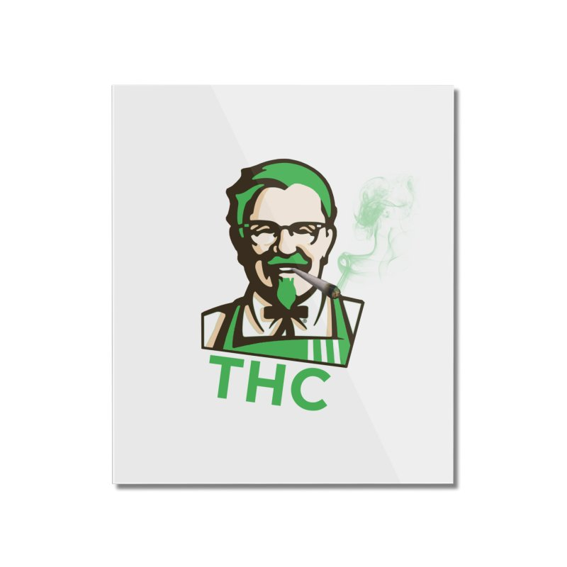 General THC Home Mounted Acrylic Print by Pbatu's Artist Shop