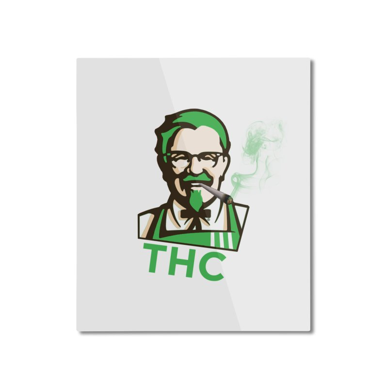 General THC Home Mounted Aluminum Print by Pbatu's Artist Shop