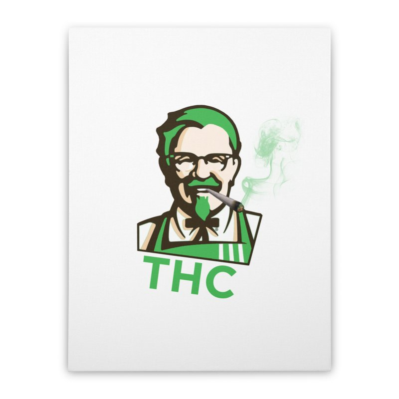General THC Home Stretched Canvas by Pbatu's Artist Shop