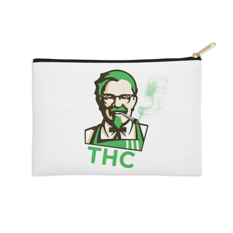 General THC Accessories Zip Pouch by Pbatu's Artist Shop
